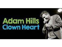 2 x Front row tickets for Adam Hills
