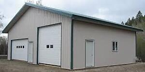 WE SELL WOOD AND STEEL SHOP & GARAGE PACKAGES,GENERAL CONTRACTOR