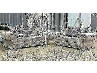 ADDITIONAL 30% OFF !! VERONA 2+3 SEATER OR CORNER SOFA IN CHENILLE FABRIC ¬¬ CASH ON DELIVERY ¬¬