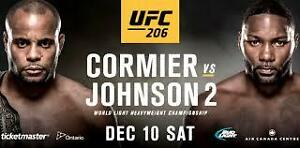 UFC 206 Section 121 Row 19 - 2 Tickets