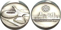 1976 Official Silver Commemorative Olympic Medallion