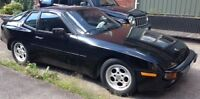 Porsche 944 2DR Coupe  1985, Black, 5-Speed, T-Roof