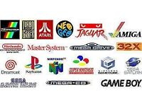 Wanted large retro console bundles with games!!