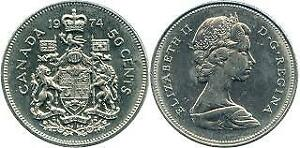 50 cent canadian coin