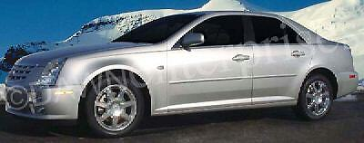 For: CADILLAC STS ALL MODELS Painted Body Side Mouldings Moldings 3M 2005-2011