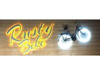 RUSTY BIKE - Part-time Bar staff required