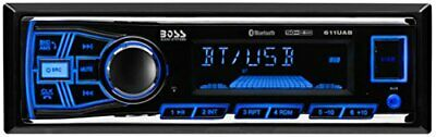boss single din usb aux radio car