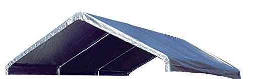 14 X 20 Heavy Duty 14mil Clear Valance Replacement Canopy Ta