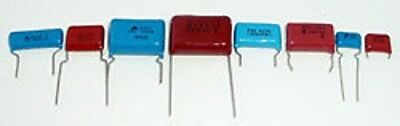 Assorted Radial Film Capacitors High Voltage Assortment