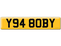 Y948 OBY Y94 8OBY BOBY Robert OBI Private Personal number plate Cherished registration 1994