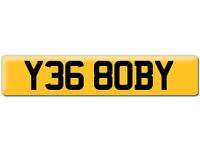 Y368 OBY YES BOBY Robert OBI Preferential Personal number plate Cherished registration on Retention