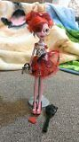Monster High doll - Operetta with accessories