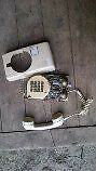 handset with curly cord