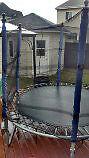 Trampoline 8 pied