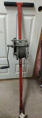 Ensley Greenlee 766 M5 Manual Crank Cable Puller Ed4u Auc