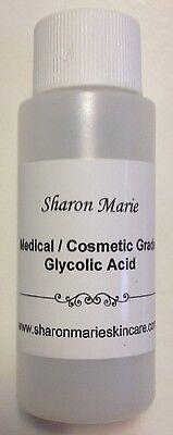 Sharon Marie 30  1Oz  Unbuffered Medical Glycolic Acid Anti Acne  Wrinkles Spots