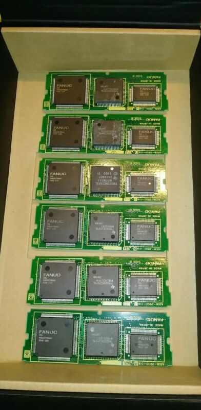 6 PC LOT GE FANUC A20B-2900-0160/02A MEMORY BOARD RAM MODULES A20B29000160 NEW !