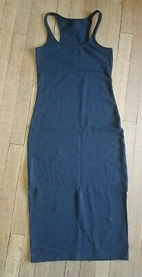 EEUC Lululemon Refresh Racer summer dress black luon size 4