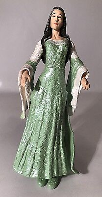 "LOTR Return Of The King Arwen Coronation Gown 6"" Figure ToyBiz 2004 Complete"