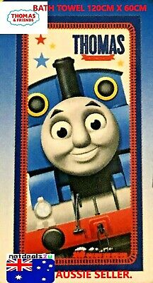 Thomas The Tank Engine & friends Bath Towel 60cm X 120cm Official Licensed -