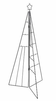 Metall Baum für Zierschmuck - 70 / 115 cm - Weihnachtsbaum Tannenbaum Ständer