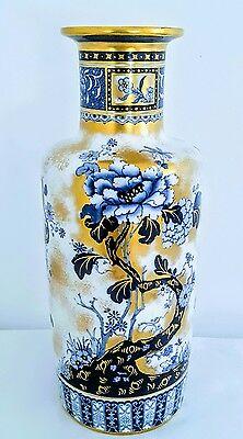Keeling & co LTD Burslem England losol ware chusan large vase c1912