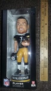 BEN ROETHLISBERGER PGH STEELERS PLAYER BOBBLEHEAD DOLL forever collectibles NIB