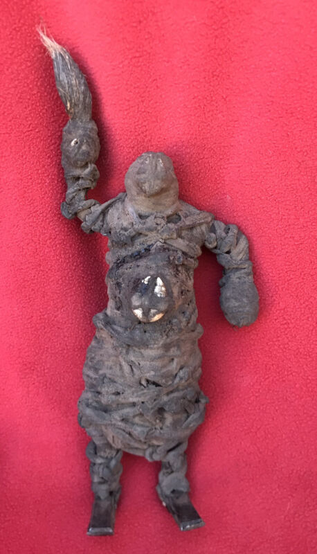 Outstanding & Unusual Old Congo Ancestral Fetish Power Figure