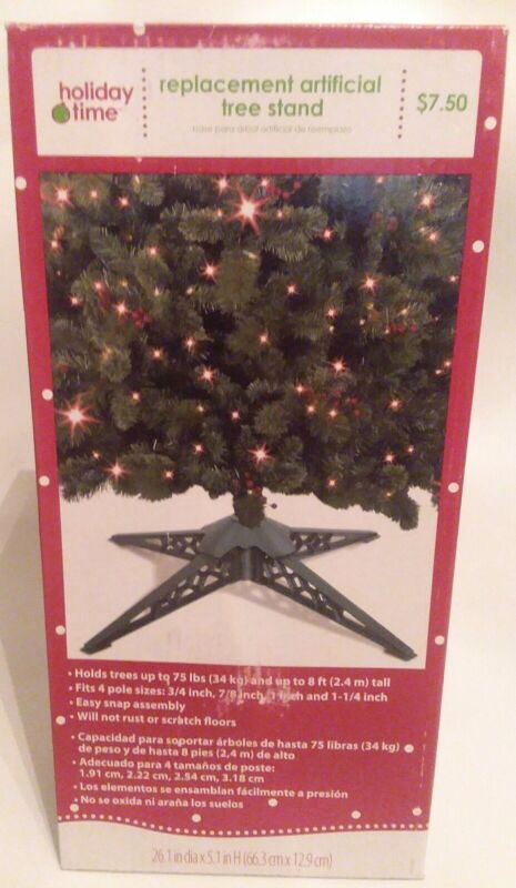 New ~ Holiday Time ~ Artificial Christmas Tree Stand Replacement