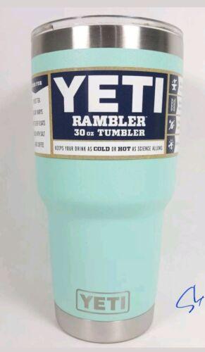 NEW Yeti Rambler 30 oz Tumbler Stainless Steel Cup W/ Lid Se