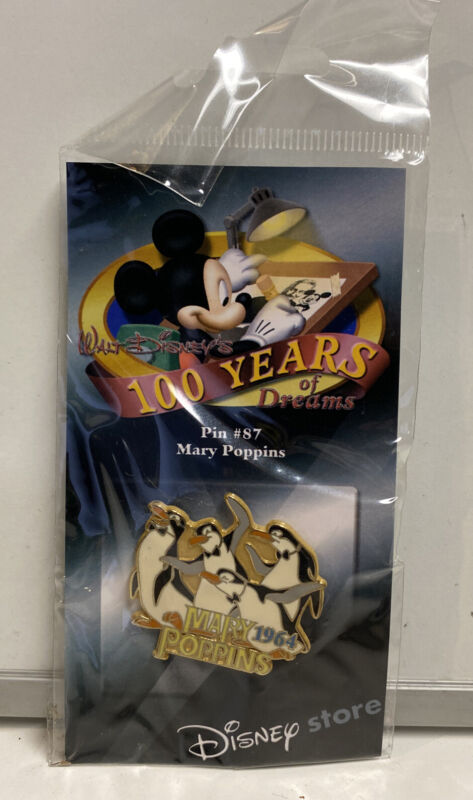 Disney Store 100 Years Of Dreams Mary Poppins Pin #87