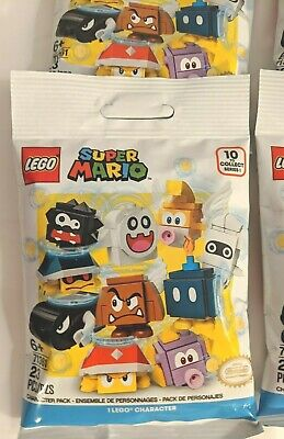 LEGO 71361 Lot 4 factory sealed Super Mario Blind Bag Mystery Character Packs