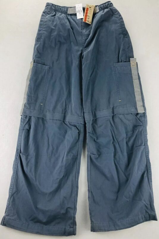 NEW Hiking Fishing Cargo Convertible Zip Off Pants Youth Sz 12 Children's Place