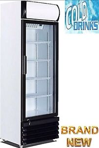 430lt Eurotag single door commercial display fridge - BRAND NEW! Brisbane City Brisbane North West Preview
