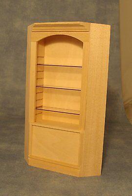 1/12 Scale Dolls House Furniture Corner Shelving Bef125