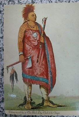 The Osage Indian Postcard