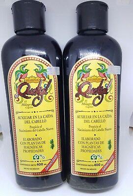 Usado, 2X Shampoo Quetzal Helps in the regrowth of hair, Auxiliar en la caida d cabello segunda mano  Embacar hacia Argentina