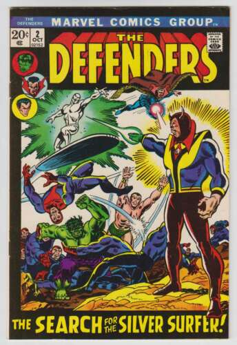 L8854: The Defenders #2, Vol 1, VF/NM Condition