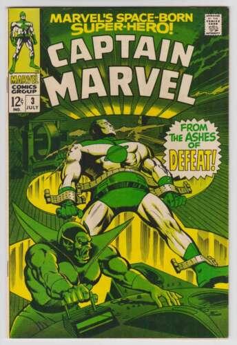 L9493: Captain Marvel #3, Vol 1, NM Condition