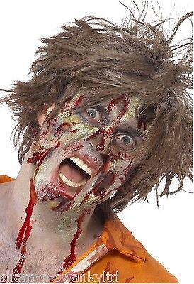 Halloween Zombie Latex Special Fx Make-Up Gesichtsbemalung Kostüm Set