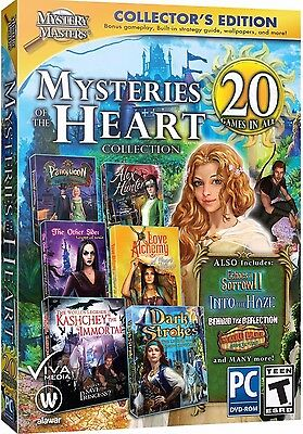 Computer Games - Mysteries Of The Heart Collection PC Games Windows 10 8 7 XP Computer seek find