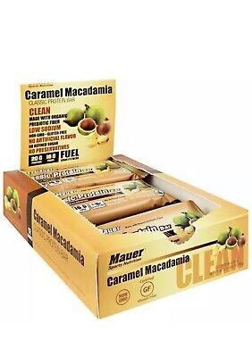 Mauer Sports Nutrition Classic Protein Bar CARAMEL MACADAMIAN (12 Count)