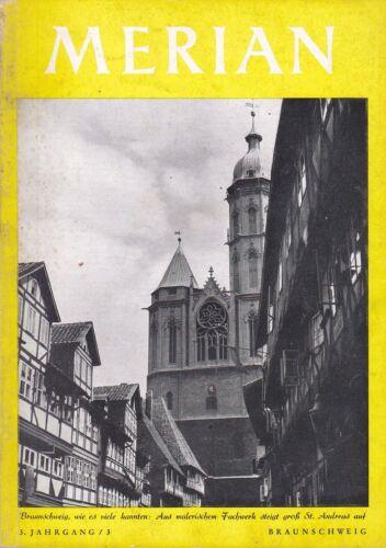 @ Merian-Heft von 1950 - Braunschweig (3. Jg. - Nr. 3)