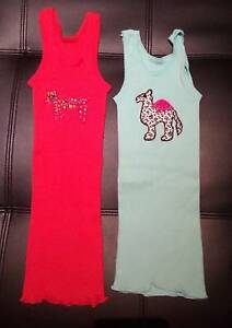 Two Girls Bonds Vests Size 2 Tapping Wanneroo Area Preview