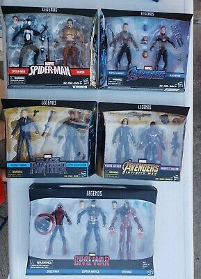 4 Marvel Legends ( 2 PACK) & 1 (3pack) lot + free bonus!!