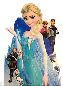 NEW DISNEY PRINCESS FROZEN ELSA WALL ROOM DECOR DECAL STICKER X-LARGE 85 X 53cm