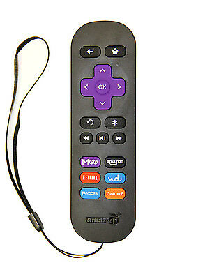 Newest technology Replacement Remote for ROKU 1/ 2/ 3/ 4 LT HD XD XS with strap