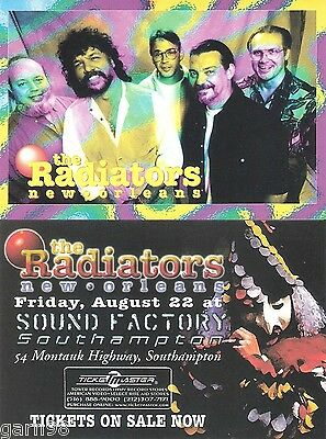 The Radiators Concert Handbill Flyer Collection