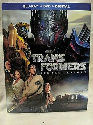 TRANSFORMERS 'THE LAST KNIGHT' NEW STILL IN PLASTIC BLU-RAY+DVD