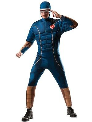 Marvel Rubies X-Men Cyclops Adult Muscle Deluxe Cosplay Costume: Standard Size/M ()